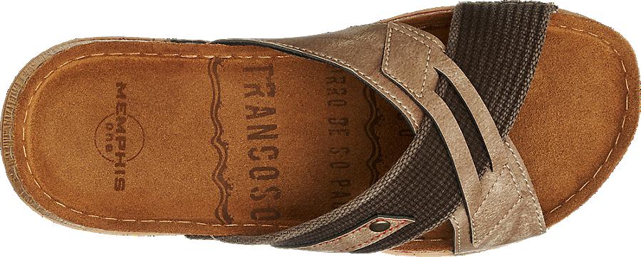 Herren shop Online Kaufen Von Memphis In Im One Günstig Artikelnummernbsp;1353395 Pantolette Braun BtCxohrdQs
