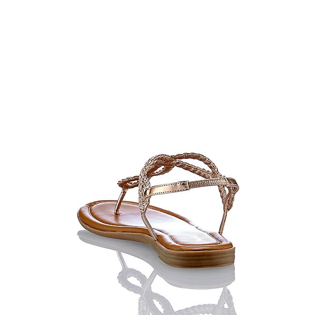 Limelight Damen Flache Sandalette In Rosegold Von Günstig Im Online-shop Kaufen