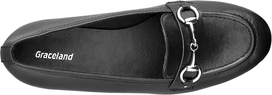 Similpelle Nera In Donna Da Loafer DHI9YWE2