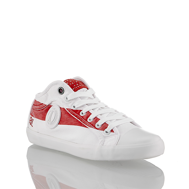 45 In Schnürschuh Im Online Günstig rot Pepe Weiß Kaufen Damen Jeans Von shop AL45Rj