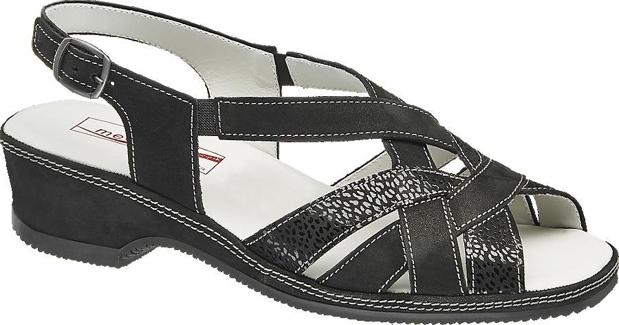 Benessere Sandalo Sandalo Nero Nero Da Donna Benessere VqpGMULSz