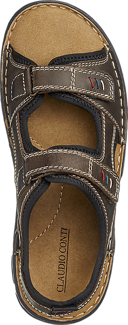 Sandalo Marrone Uomo In Da Pelle CBerodx