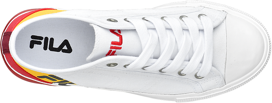 Bianco Donna Tessuto Sneaker Da Fila In lK3FJcT1