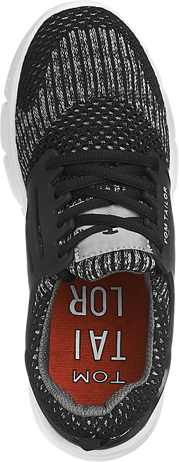 Da Bambino Sneaker In Grigio Tessuto OPXN8n0wk
