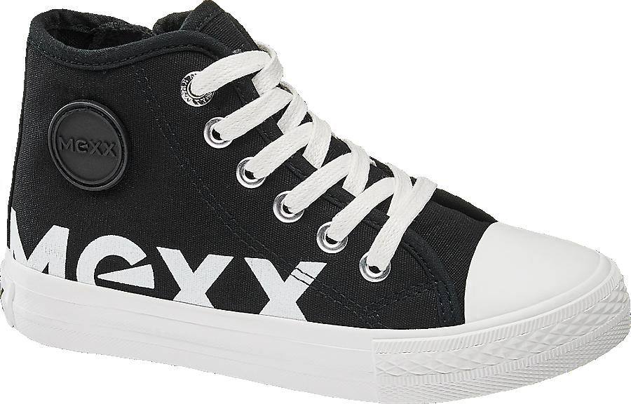 Tessuto In Bambino Cut Mid Sneaker Nero Da 08wNnOPkX