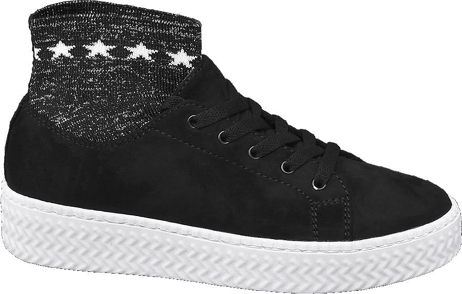 Sneaker A Nera Calzino Donna Da TwOkZlXiPu