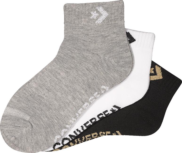 Kaufen Online Von Pack Im Grau Socken shop Converse Günstig Artikelnummernbsp;3918088 In 3 vnONwm80