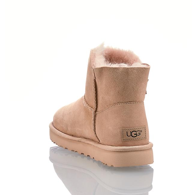 Ugg Mini Balley Button Ii Damen Boot Rosa In Von Günstig Im Online-shop Kaufen