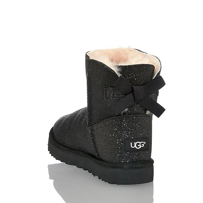 Ugg W Bailey Bow Sparkle Damen Boot Schwarz In Von Günstig Im Online-shop Kaufen