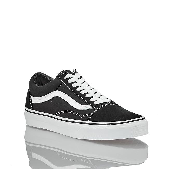 Im weiß Schwarz Günstig Damen Online Von shop Kaufen Vans Oldskool Sneaker In HDW9E2I