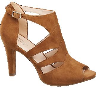 5th Avenue sandały peep toe