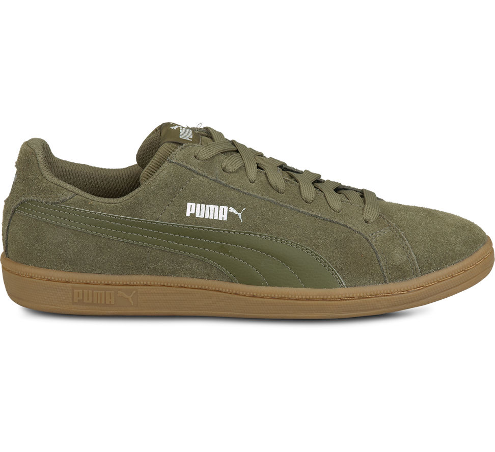 puma sneaker smash suede olive