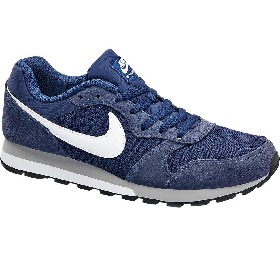 Nike Md Runner 2 Lacivert Beyaz Erkek Sneaker