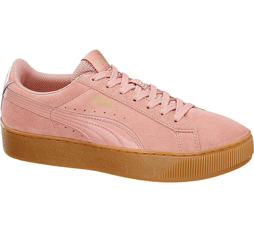 puma vikky platform rosa