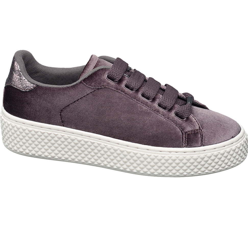 Graceland 1102541 Kahverengi Dolgu Topuk Sneaker