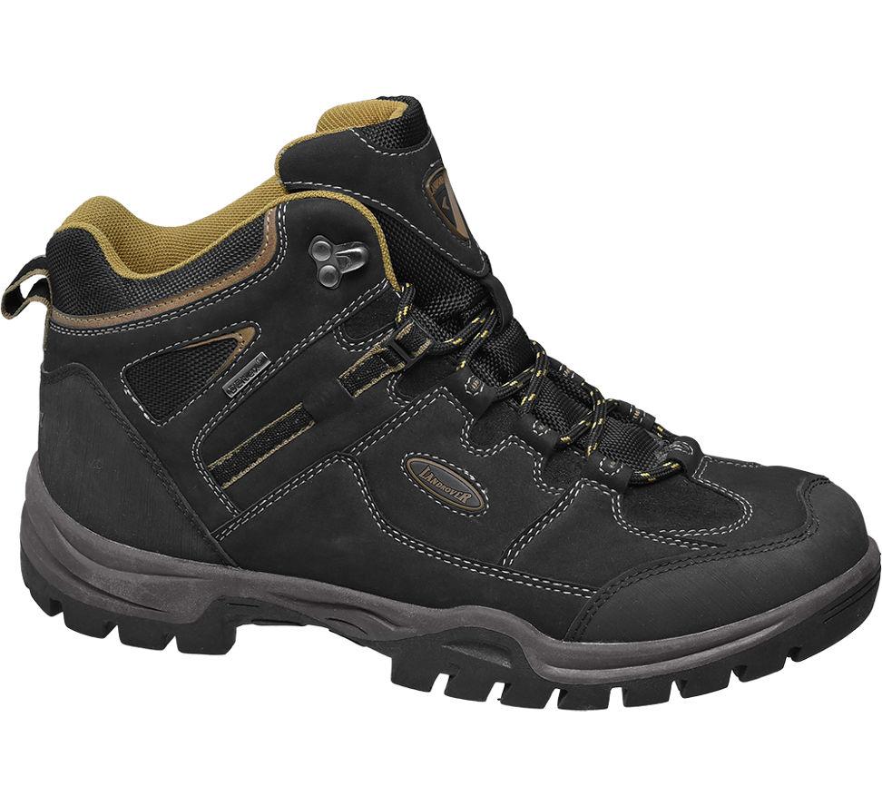 Landrover Hommes Noirs Chaussure De Marche (taille 44, Noir)