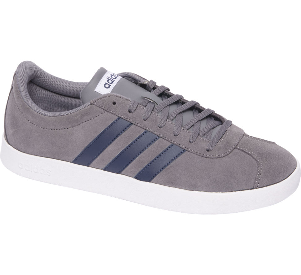Adidas Vl Court Heren (maat 9.5, Grijs)