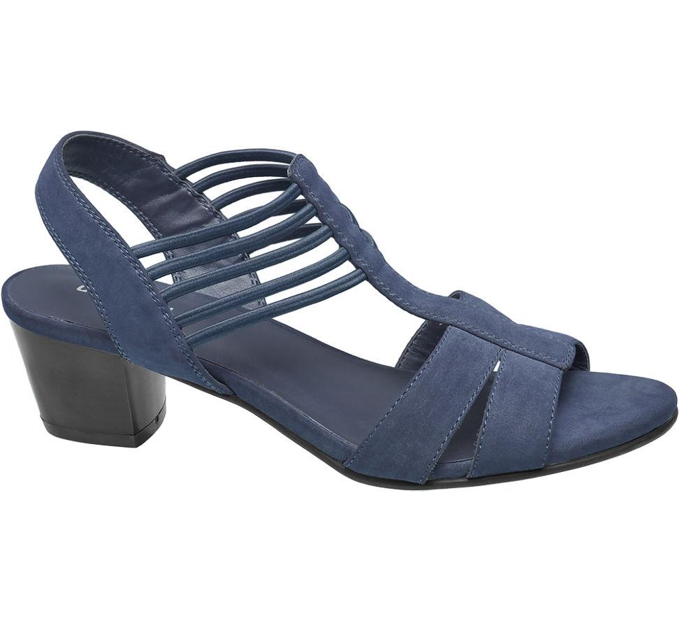 MesFemmes Boucle Graceland Sable Bleu Alette (taille 37, Bleu)