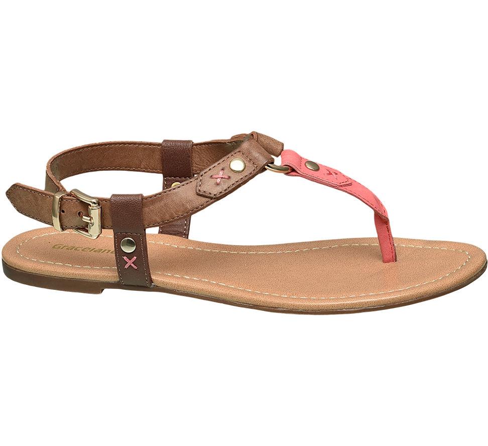 Brown Graceland Chaussures Avec Boucle Pour Femmes R5I7Urhtq
