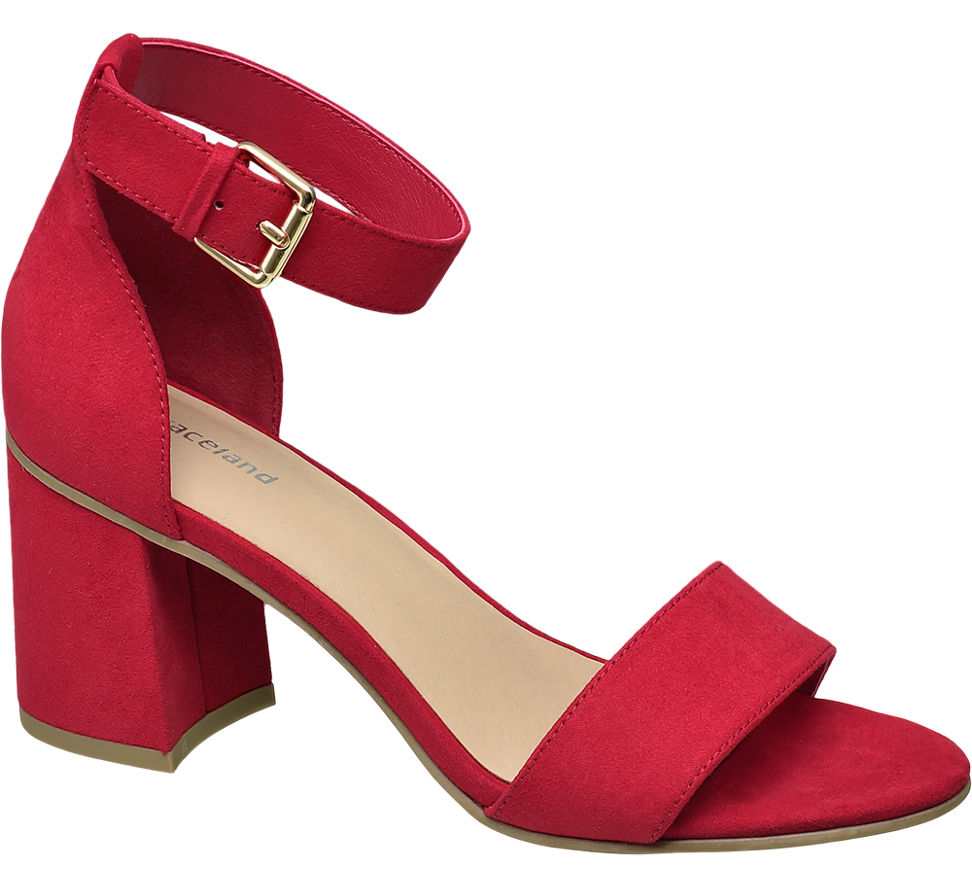 Chaussures Rouge Graceland R3pzpsJ65