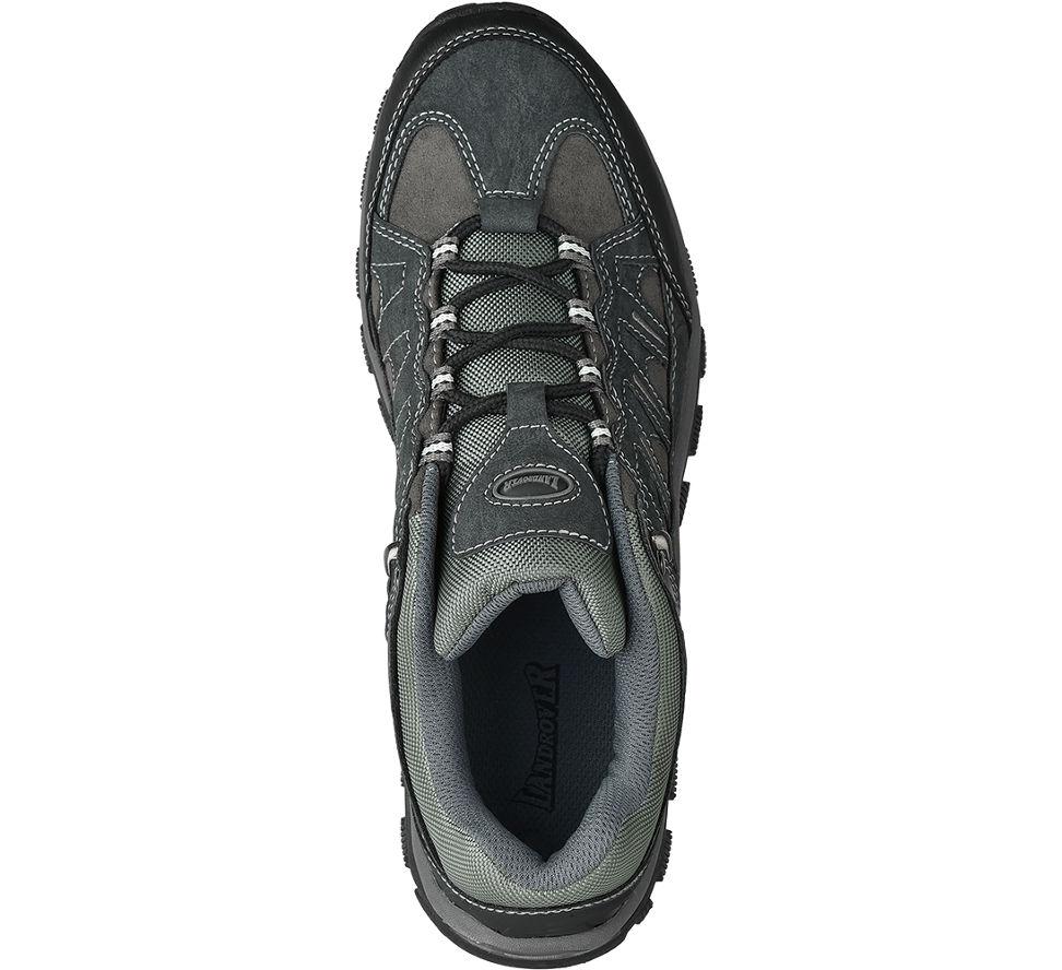 Chaussures De Randonnée Gris Landrover Lacets Élastiques Femmes (taille 36, Gris)