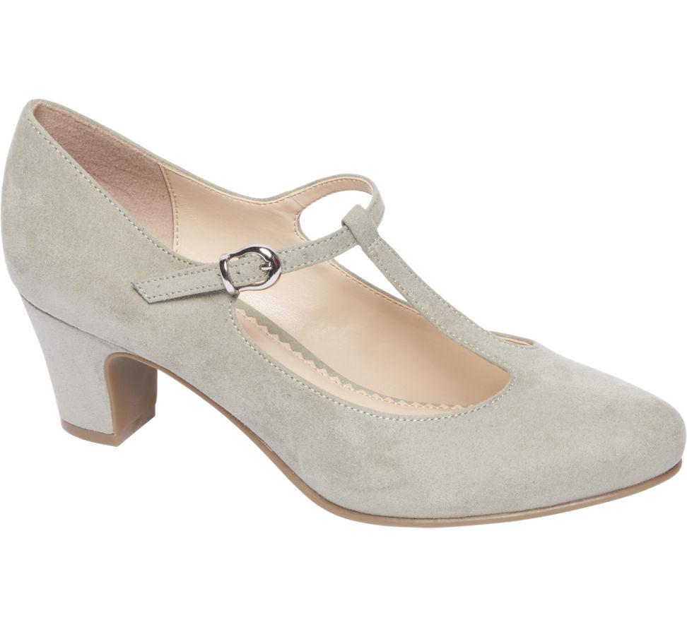 Chaussures De Graceland Vert Avec Boucle Pour Femmes sah2A81