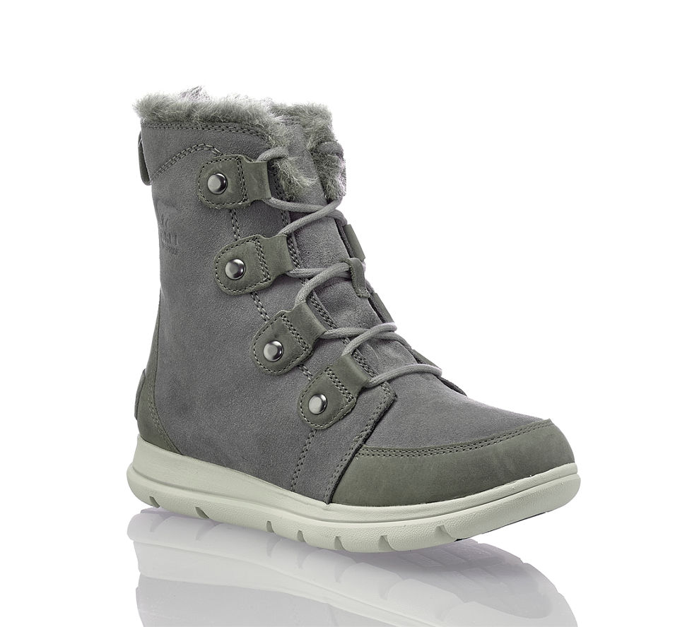Schuhe Damen Grau Einen Stilvollen Frauen Für Trendige Auftritt qdwvUdga