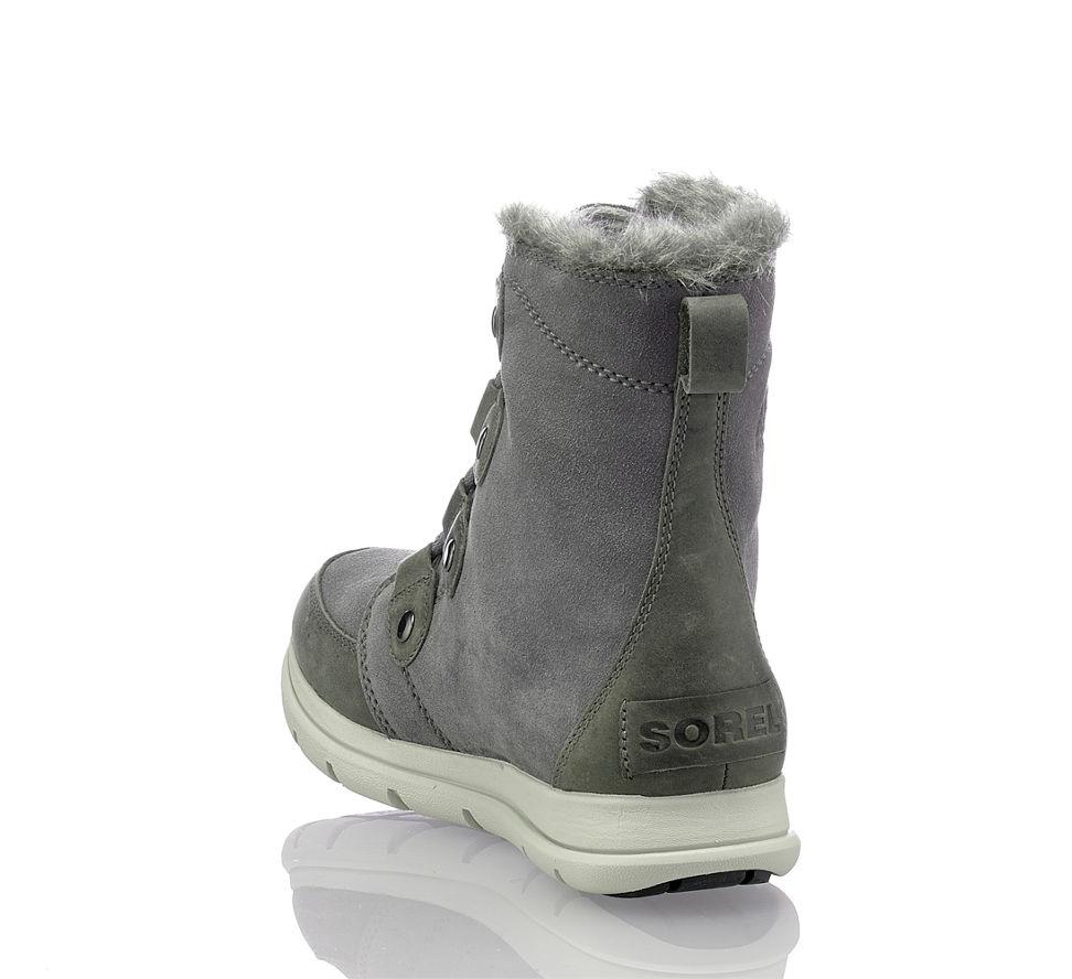 Stilvollen Für Schuhe Frauen Trendige Auftritt Damen Einen Grau qA71zUw