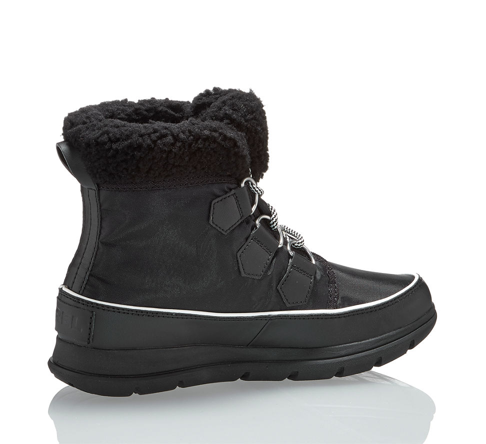 Schuhe Einen Trendige Schwarz Stilvollen Auftritt Für Damen Frauen BUaSdqq