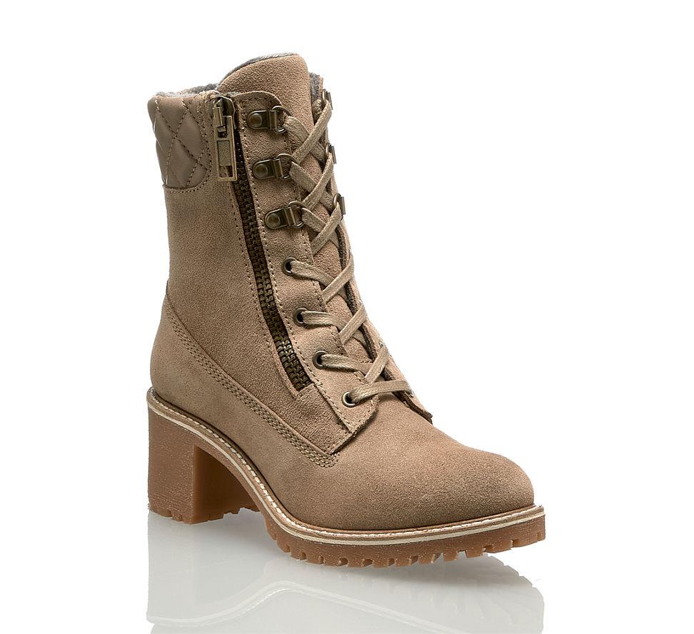 Trendige Einen Frauen Damen Auftritt Schuhe Taupe Für Stilvollen C5qxBv