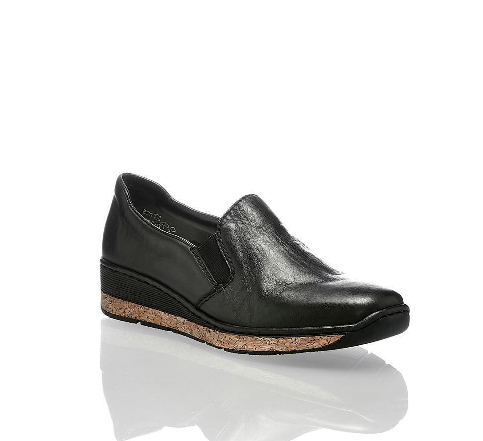 Frauen Auftritt Schwarz Schuhe Stilvollen Für Einen Damen Trendige qYx6wEFWa