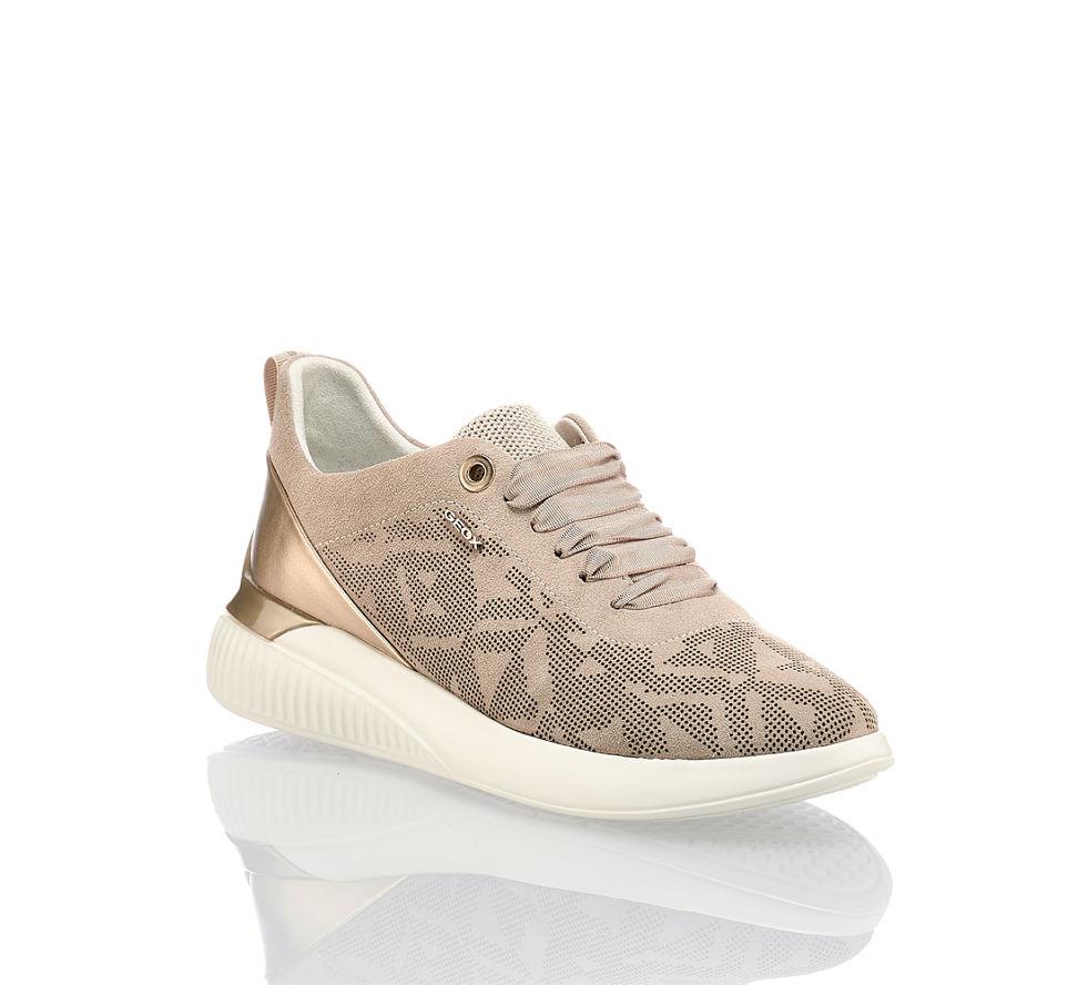 Schnürschuhe Frauen Schwarz, Silber Sneakers TROPEZ LOW