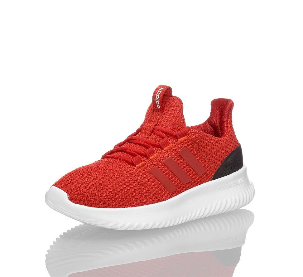 Kinder CF adidas Schuhe Kinder Sneaker Ultimate Rot sCxdthBQr
