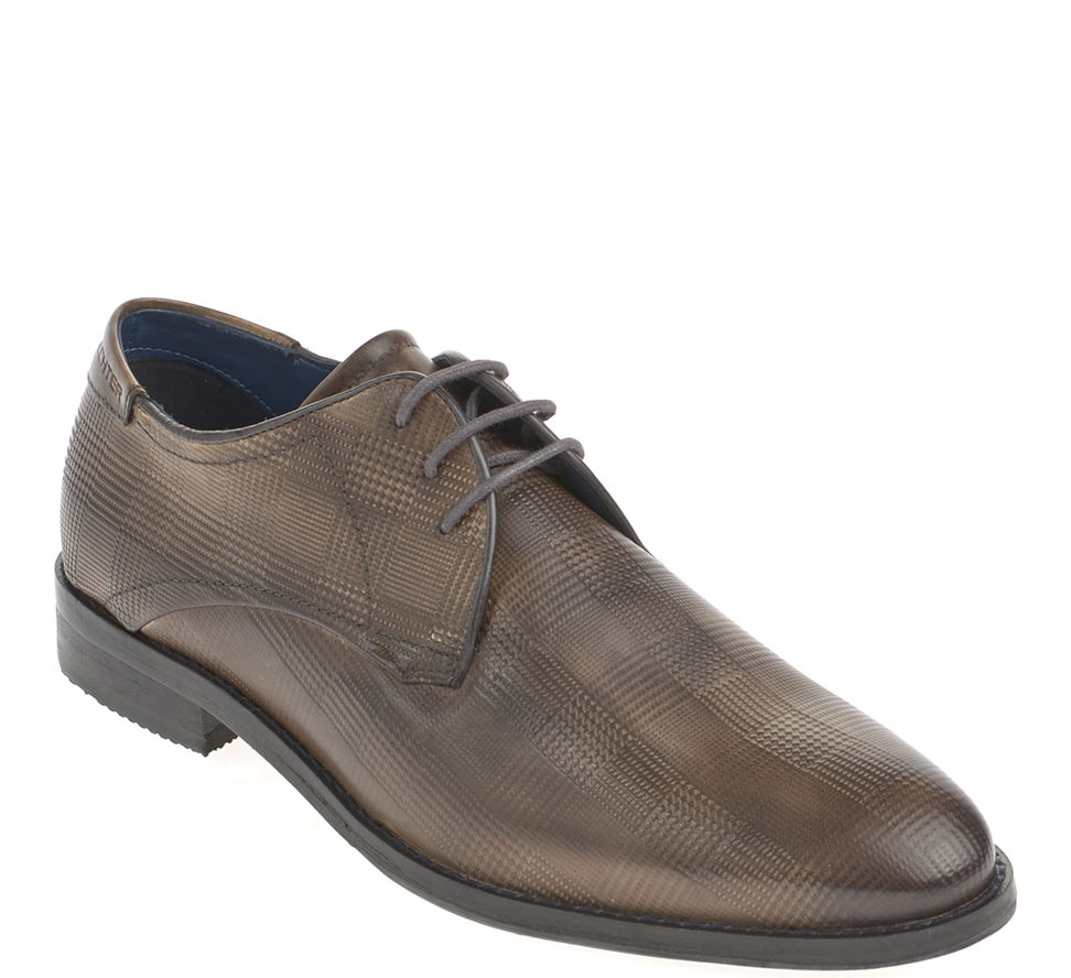 Daniel Hechter Business Schuhe Leder Dunkelbraun in Gr. 42