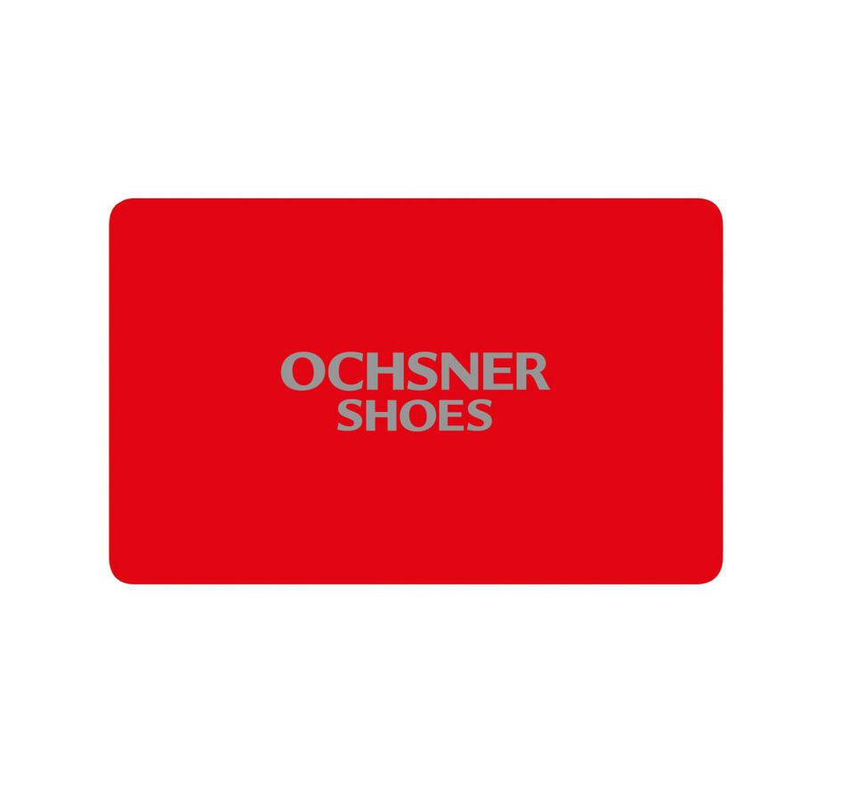 Shoes Geschenkkarte Geschenkkarte in rot Damen Ochsner ZuPkXi