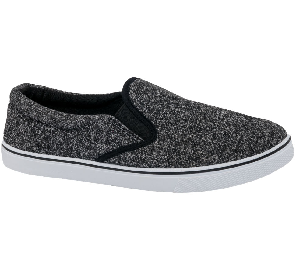 Blue Fin Mens Slip On Casual Shoes