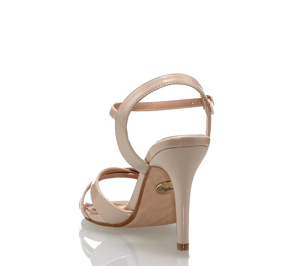 Im Günstig Von Buffalo Sandalette Kaufen Beige In Hohe Damen CTCw0qZ6