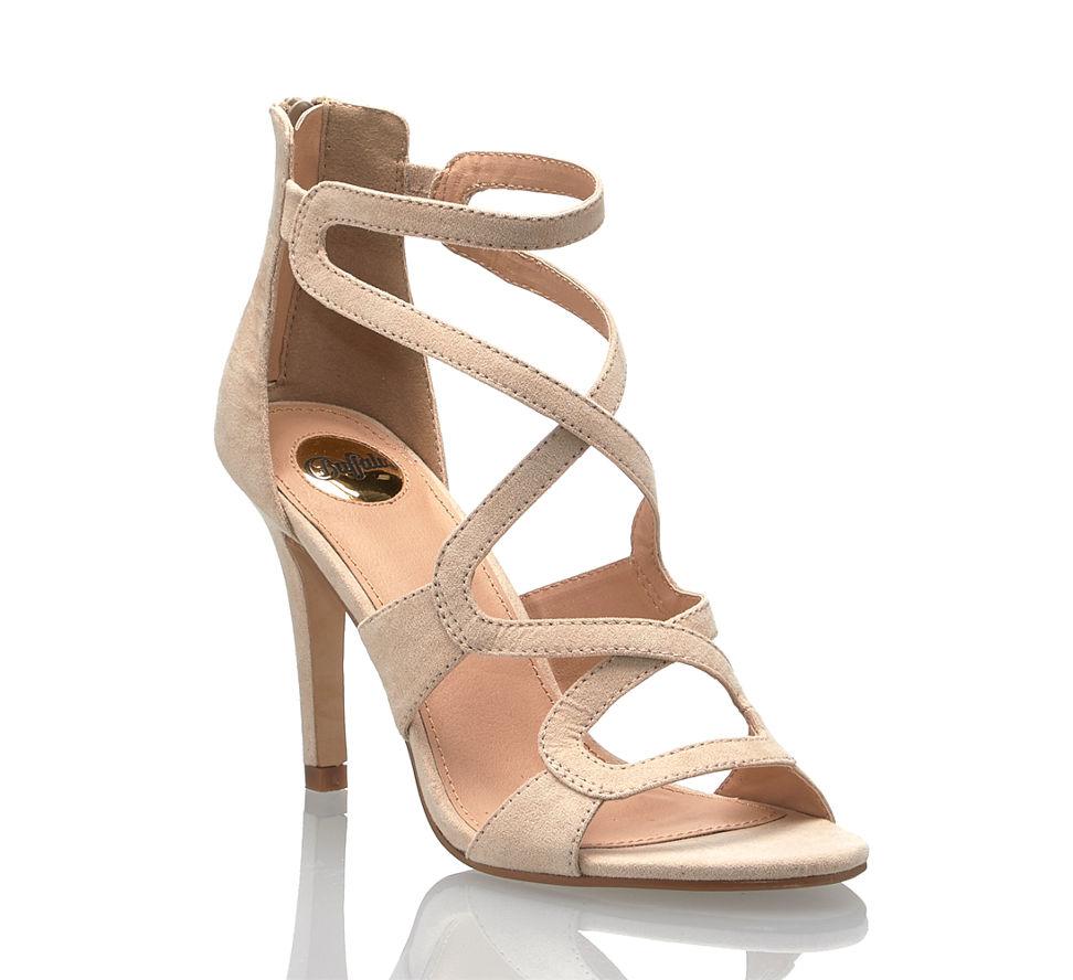 Im Nude In Günstig Damen Buffalo Kaufen Hohe Sandalette Von pvqI6