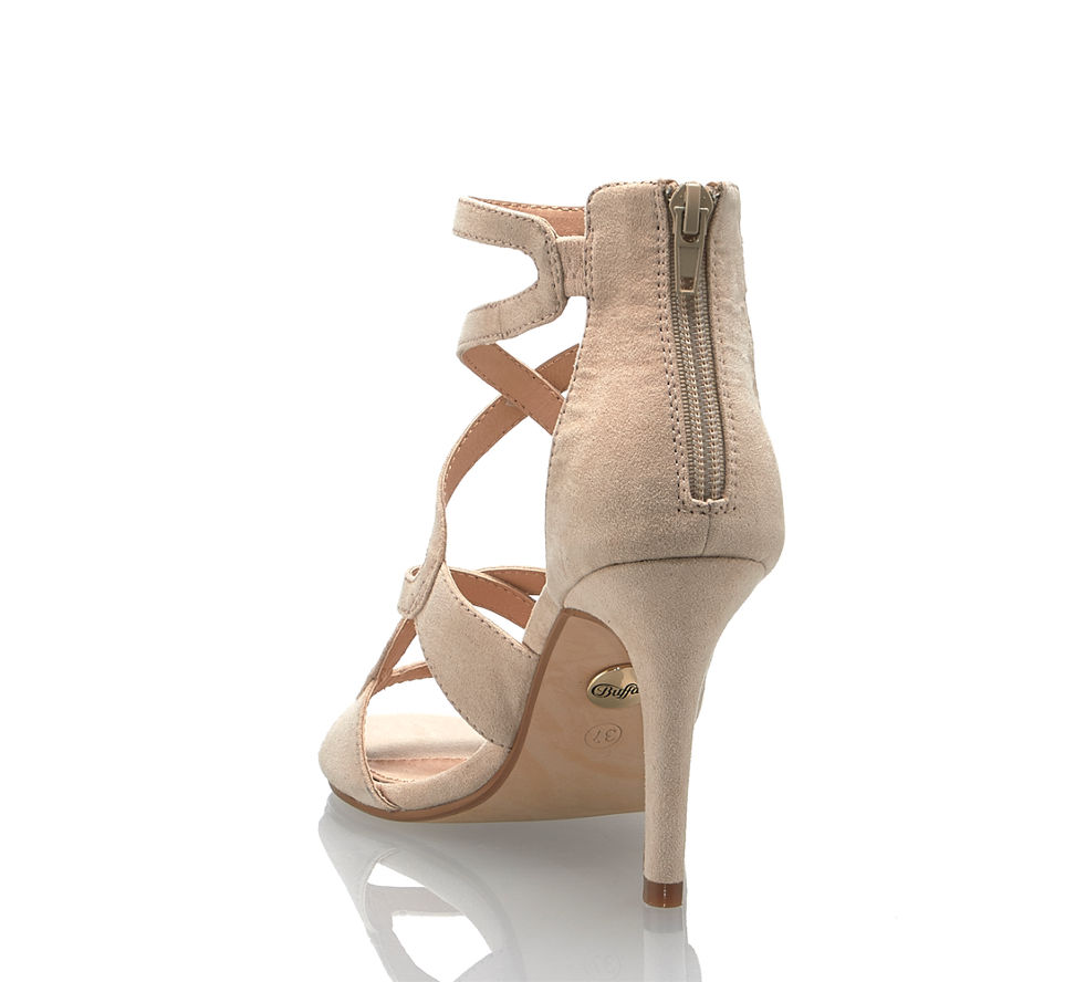 Im Von Günstig Sandalette Hohe In Kaufen Buffalo Nude Damen wq7C0qx1