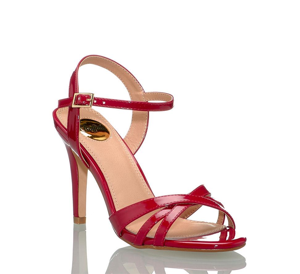 Shop Damen Im Rot Online Von In Kaufen Sandalette Buffalo Hohe 4wSC8q8