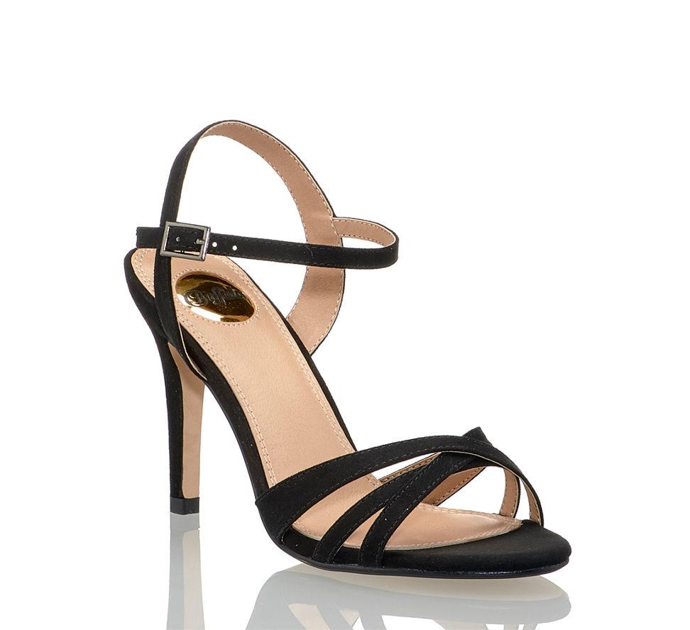 In Buffalo Von Schwarz Shop Sandalette Im Kaufen Hohe Online Damen v1Wn1t