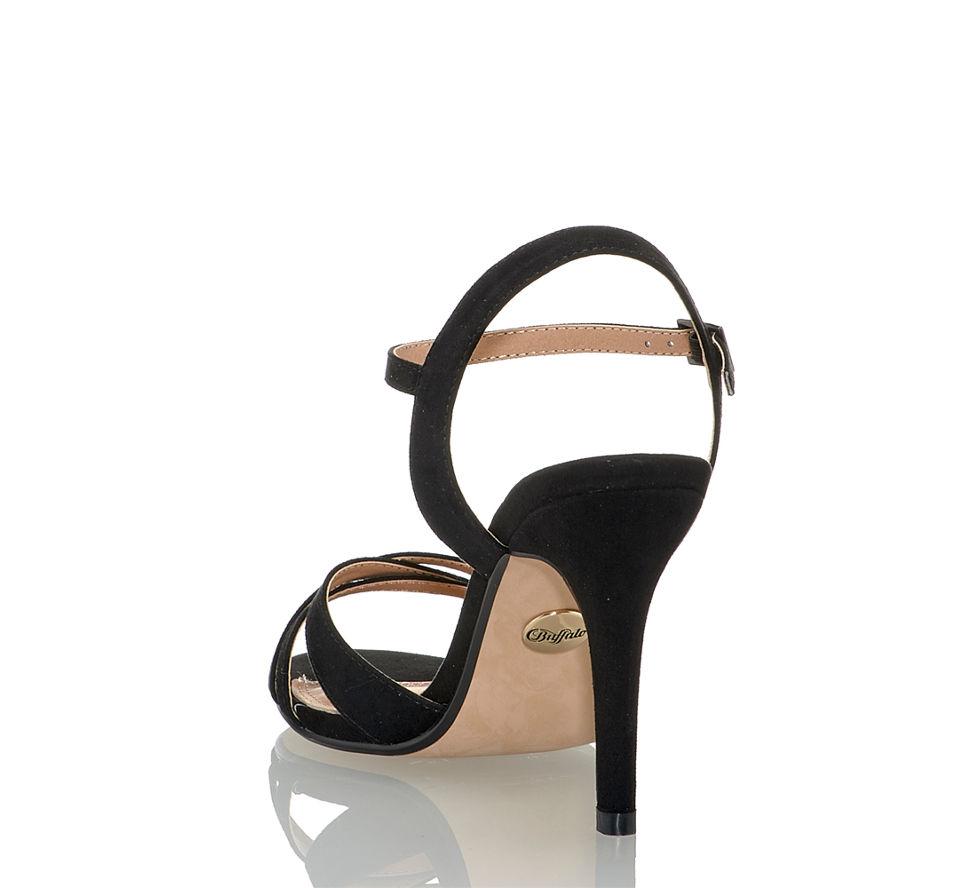 Shop Online Von Schwarz Hohe In Kaufen Sandalette Im Buffalo Damen 7x86qUwRR