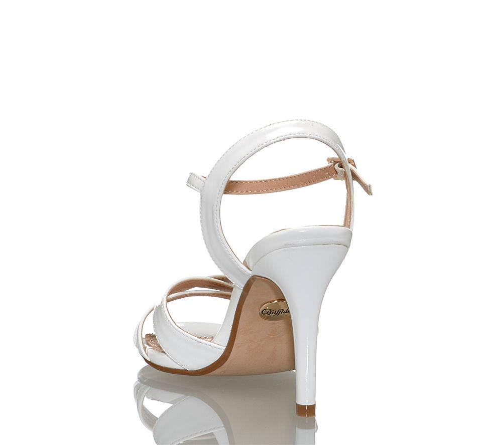Online In Von Hohe Sandalette Im Weiß Shop Buffalo Kaufen Damen 1n0RpxA