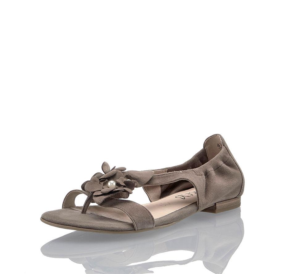 Sandalette Damen Taupe Von In Laura Im Kaufen Günstig Caprice Flache CxqXwfxt