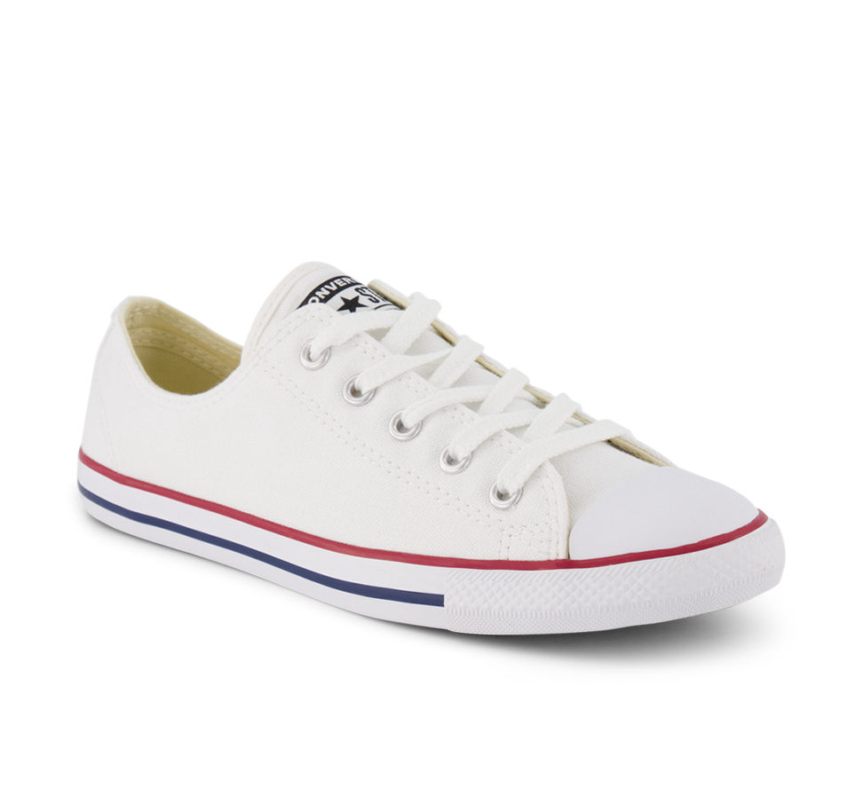 converse dainty blanches femme