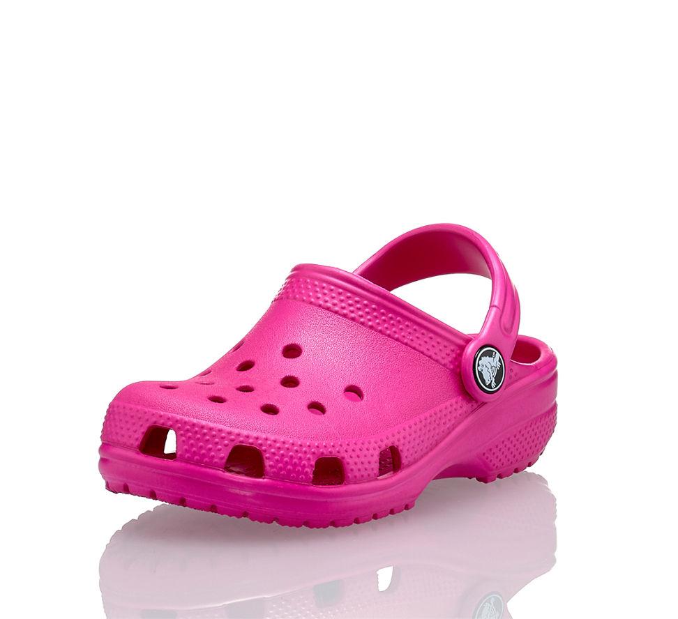 f0e3d18ab214fb Crocs Classic Mädchen Clog Pink in pink von Crocs günstig im Online ...