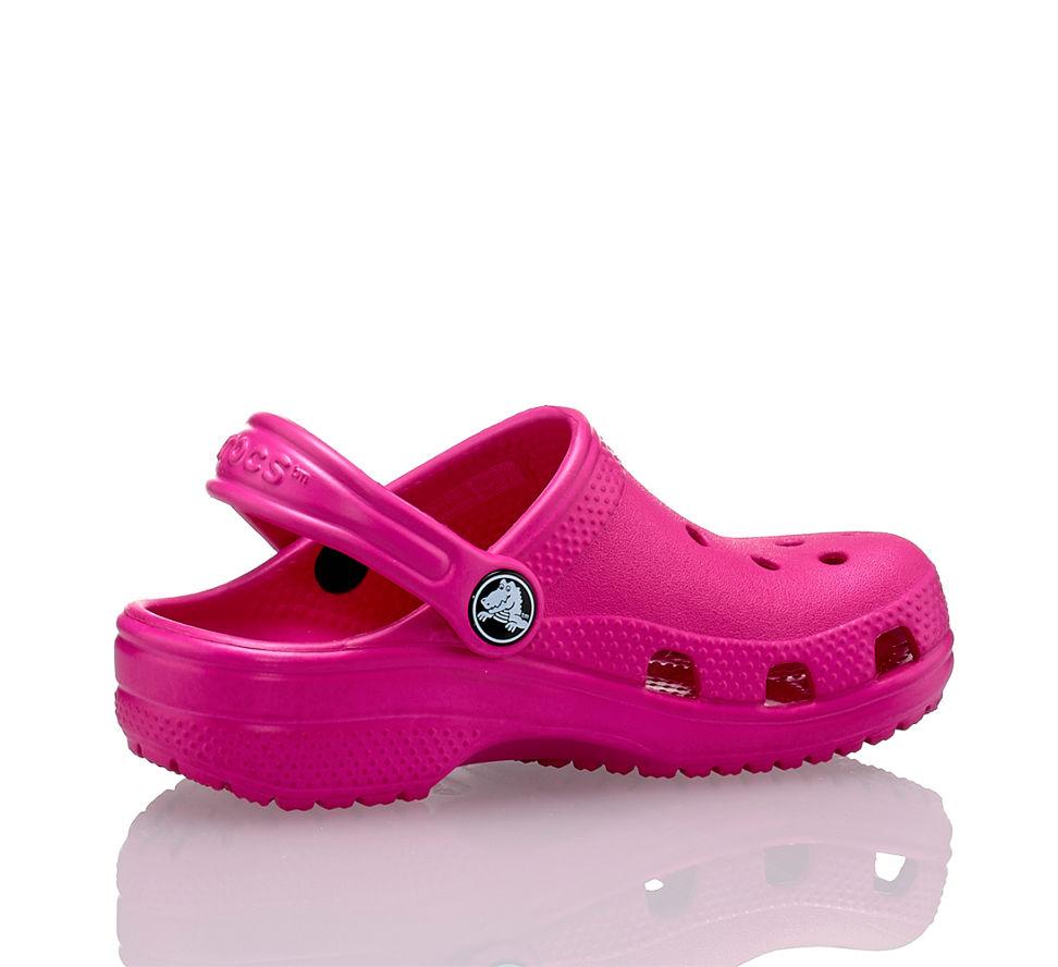 d9d7ef450ad7e7 Crocs Classic Mädchen Clog Pink in pink von Crocs günstig im Online ...