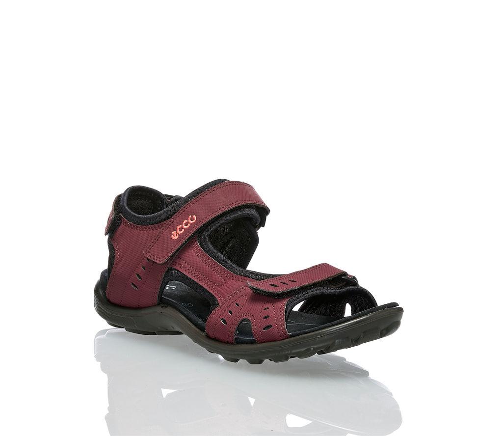 Kaufen Günstig Sandale All Von In Damen Im schwarz Ecco Bordeaux Terrain wv46nq8
