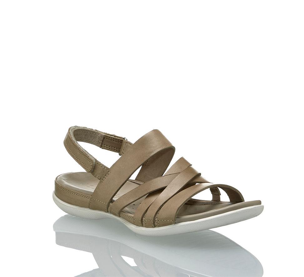 11c6f8e697b1bc Ecco Flash Damen Sandale in beige-braun von Ecco günstig im Online ...