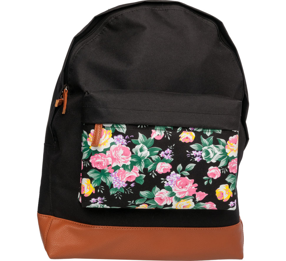 floral pocket backpack deichmann. Black Bedroom Furniture Sets. Home Design Ideas